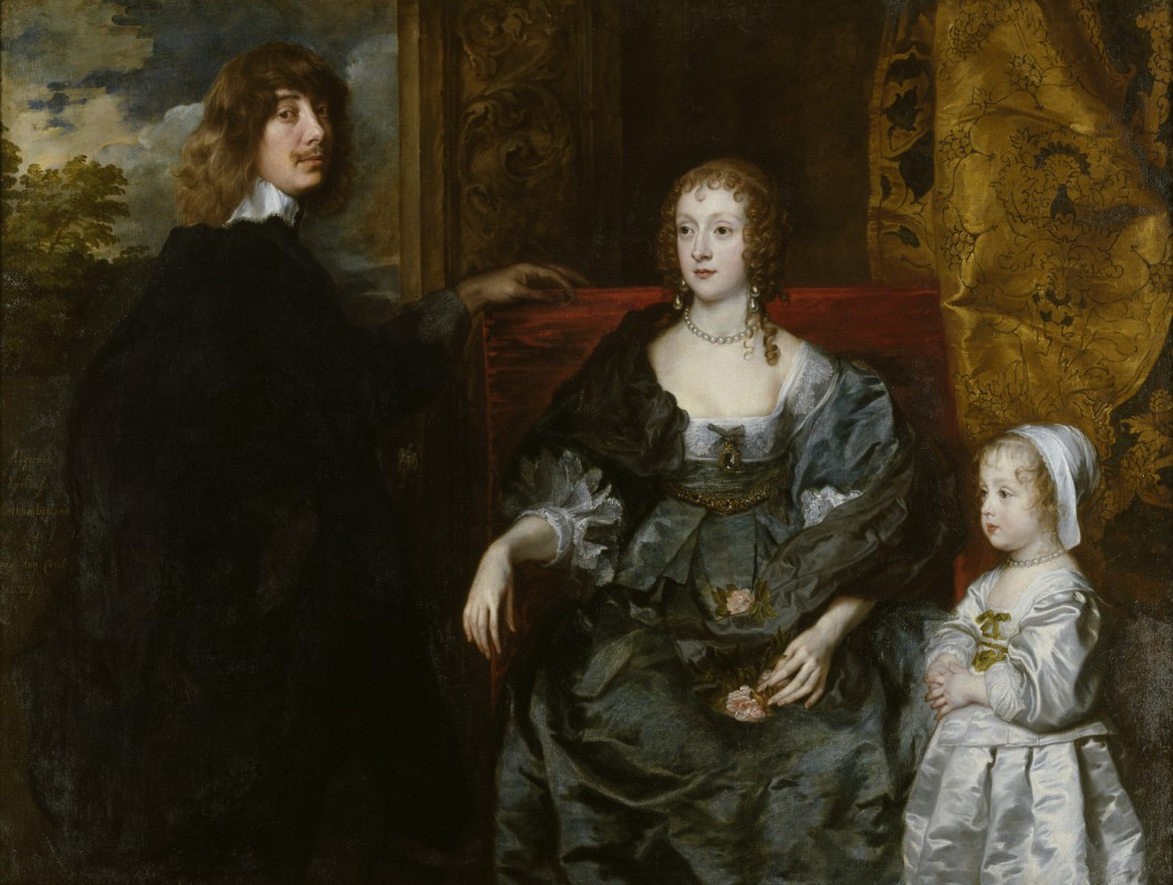 Algernon Percy, 10th Earl of Northumberland, his First Wife Lady Anne Cecil and their Daughter, Lady Catherine Percy