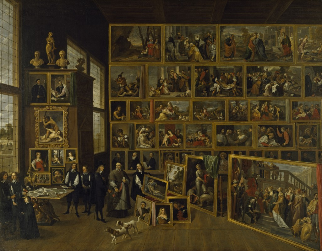 The Brussels Picture Gallery of the Archduke Leopold Wilhelm of Austria
