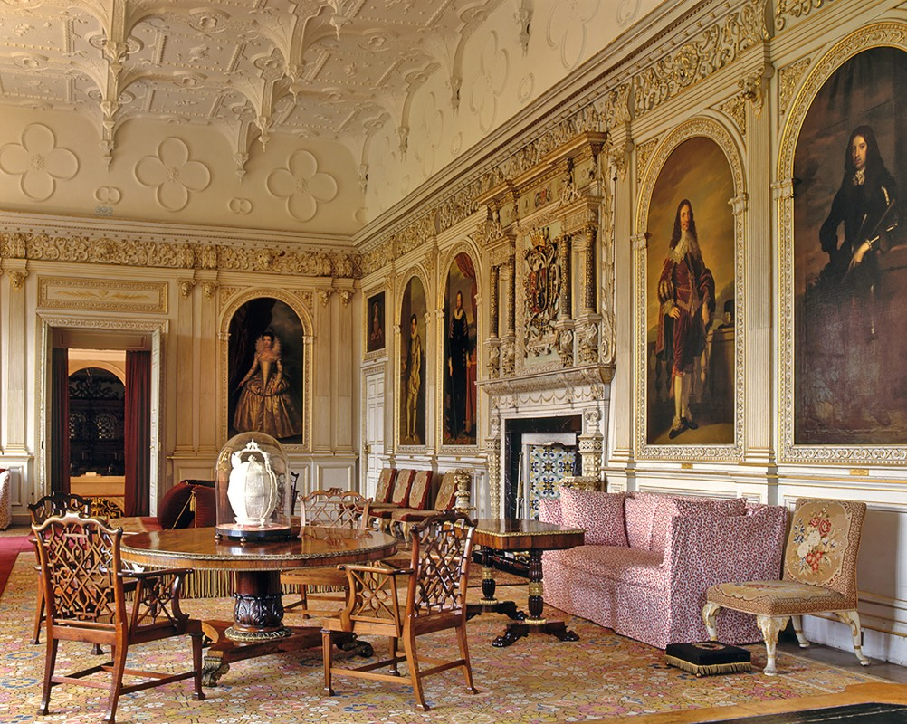 The Saloon at Audley End