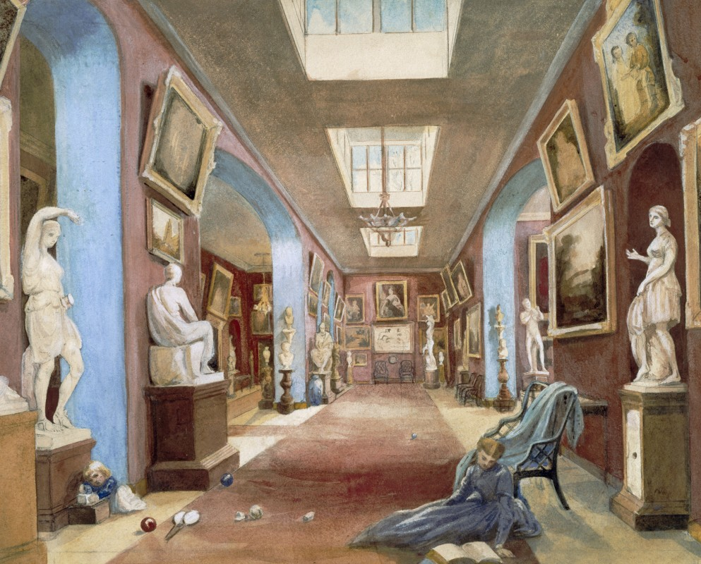 The Hon. Mrs Wyndham, The North Gallery, Petworth House