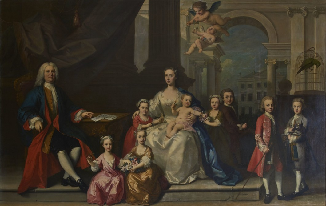 The Family of Horatio, 1st Lord Walpole
